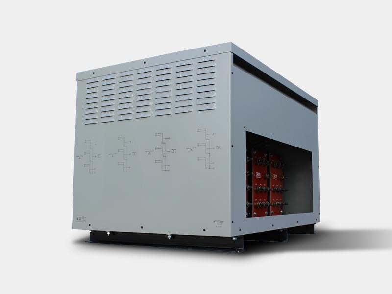 Auto transformer used in electric car charging stations